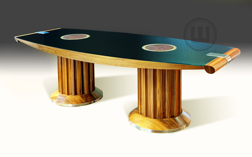 luksusowe meble na zamówienie, stół konferencyjny